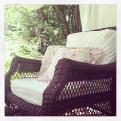 #wicker #love #shabby #cottage - @frenchcountrycottage