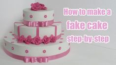 How to make a fake cake step-by-step Assista este vídeo em portugues no link https://www.youtube.com/watch?v=lDLm61JQc9I Ative a legenda (no canto inferior d...
