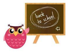 professor owls: Owl Teacher in the school