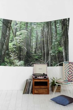Laura Kicey Forest Tapestry - Urban Outfitters $69
