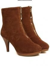 Suede cover front suede two wat wear short boots  $ 14.19