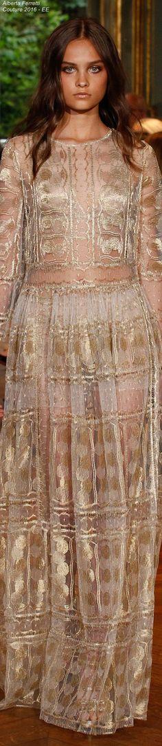 Alberta Ferretti Limited Edition Fall 2016 Couture