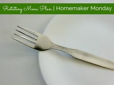 #HomemakerMonday ....let's talk about rotating menu plans.