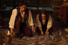 James McAvoy and Daniel Radcliffe in Victor Frankenstein