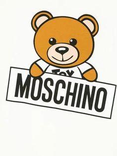 Moschino Kids Teddy Logo T-shirt - Farfetch Mickey Mouse Wallpaper Iphone, Supreme Iphone Wallpaper, Hype Wallpaper, Flower Phone Wallpaper, Bear Wallpaper, Cartoon Wallpaper, Moschino Bear, Luxury Logo, Silhouette Machine
