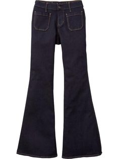 Old Navy High Rise Retro Flares $36