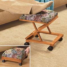Folding Tapestry Footrest Fresh Finds Rv Living Room E Furniture Home