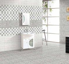 Rafael Gris, 30x30 cm, Floor Tiles, Satin Matt, Digital