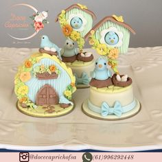 Mini Tortillas, Types Of Cakes, Mini Pies, Little Cakes, Iced Cookies, Creative Cakes, Clay Crafts, Baby Shower Cakes, Cake Art