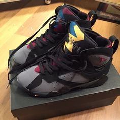 Sneaker (youth) Jordan's only worn a few times. Slight crease in toe area. In good condition. Jordan Shoes Sneakers