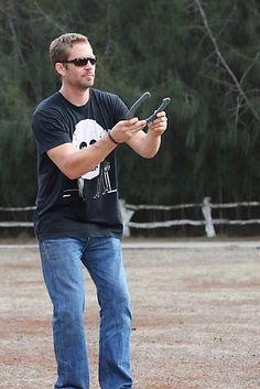 "Paul Walker in Lanai Hawaii in 2010: ""some horseshoes after the event"" ❤️Rip ❤️"