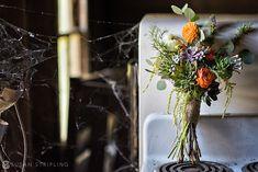 Rustic wedding flowers, rustic bouquet, Susan Stripling Photography: Basilica Hudson Wedding : Samantha June + Dave