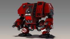 3d animation DoWII Dreadnought by yannoch