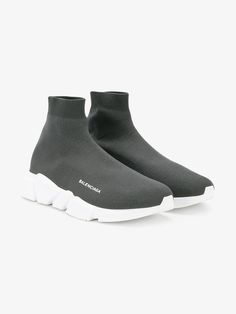 BALENCIAGA SPEED KNITTED TRAINERS. #balenciaga #shoes #sneakers