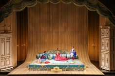 """Review in Chicago Sun-Times: """"His adoring, long-suffering, elegant wife, Countess Almaviva is Illinois-born soprano Amanda Majeski. The Countess' pain is dealt with comically early on as she gorges sweets on the gargantuan bed she once shared with her husband. But some of the opera's most moving moments (and most exquisite singing) come when she recalls the joys of her earlier days of passion with the Count..."""" (Chicago, IL)"""