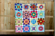 do. good stitches HAVEN May quilt by knottygnome, via Flickr
