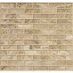 New Town - 1 x 3 Frost Dew Colour Body Porcelain Brick Mosaic - UH6T - Home Depot Canada