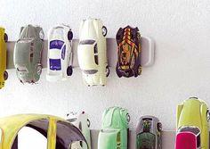 Magnet Toy Car Storage