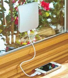 Portable Window Solar Power Charger - Recharge Tablets iPhones Smartphones #UnbrandedGeneric