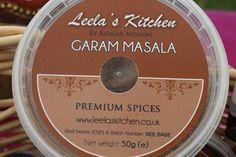 Garam Masala (50g) Ground Coriander, Garam Masala, Vegetable Dishes, The Fresh, Spices, Stuffed Peppers, Cooking, Kitchen, Recipes