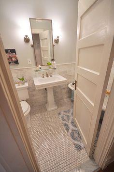 brooklyn limestone -- want this flooring for all bathrooms.