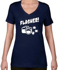 Flasher V-Neck