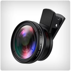 Clip on wide angle lens for your cell phone Spy Camera, Camera Hacks, Camera Lens, Leica Camera, Nikon Dslr, Film Camera, Gopro Photography, Digital Photography, Wedding Photography