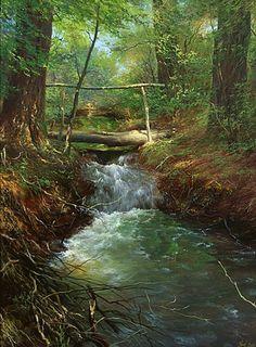 peinture de Yuri Klapoukh