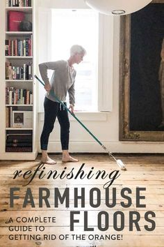 House Ideas - Floors When I first refinished my pine floors 20 years ago the only well known option Painted Hardwood Floors, Pine Wood Flooring, Old Wood Floors, Heart Pine Flooring, Refinishing Hardwood Floors, Farmhouse Flooring, Pine Floors, Diy Flooring, Wood Floors In Kitchen