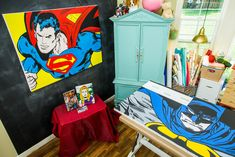 It's a bird! It's a plane! No, it's DIY Superhero Comic Art! Watch Home & Family weekdays at 10a/9c for super DIYs!