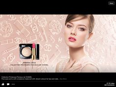 Collection . Chanel Makeup, Chanel Spring, Make Up, Lipstick, Inspiration, Beauty, Bubbles, Channel, Letter