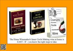 The Home Winemaker's Inner Circle Making wine at home is EASY - IF - you know the right steps to take.  http://a1b55z5cvjgt7s274ifhr6y-xb.hop.clickbank.net/?tid=ATKNP1023