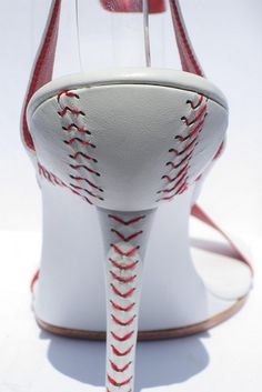 This article has tips telling you why baseball is fun for many people. Read this article to learn more about the fun game of baseball. To improve your batting, think about hitting the baseball at the fence rather than over it. Baseball Shoes, Baseball Mom, Baseball Stuff, Baseball High Heels, Baseball Field, Detroit Baseball, Baseball Fashion, Baseball Crafts, Baseball Gear