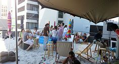 Joburg's Darling - Venues to Visit | Restaurants - The Beach, 68 Juta Street, Johannesburg.