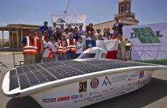 Reñido duelo entre Chile y Japón definirá Carrera Solar Atacama http://www.revistatecnicosmineros.com/noticias/renido-duelo-entre-chile-y-japon-definira-carrera-solar-atacama