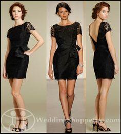Wish this came in dark purple!   Noir by Lazaro Bridesmaid Dress: Lazaro NZ3232