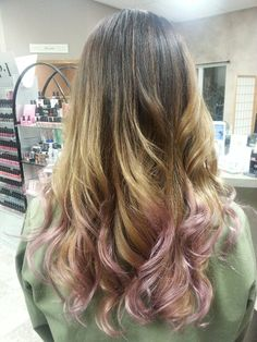 #Ombre #pastel #tips I was thinking of getting this
