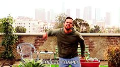 Pin for Later: 50 Reasons You Can't Stop Crushing on Nick Miller He Appreciates Jumping Pictures
