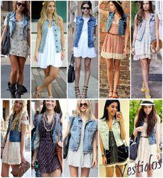 Olá, fashionistas! Hoje o assunto será sobre o colete jeans! Uma leitora do blog pediu para que eu desse dicas de como deixar o look feminino usando o famoso coletinho. Se você também quiser dar su…