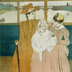 """Mary Cassatt """"The Boating Party """" 1893 1894 oil on canvas"""