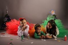 Photo Session for Christmas - Eve, Elise & Sofi ♥