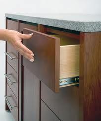 I love this soft close drawer