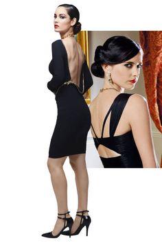 Bond, Vesper Lynd inspired outfit, back zip. Tom Ford dress.