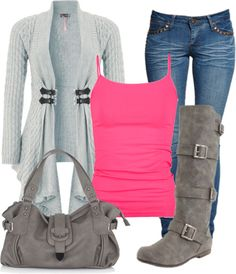 I can do this - ruby jean, trapeze tank pink, tee shirt topper #cabiclothing #readyforspring