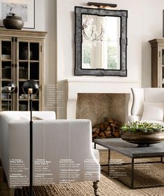 Beautiful Living Rooms and Offices | RH Source Books