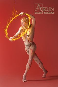 FIRE @ Ajkun Ballet Theatre. Dancer: J Ryan Carroll.
