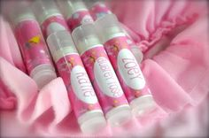 Chapstick Tutorial, Template & Free Pinkalicious Label