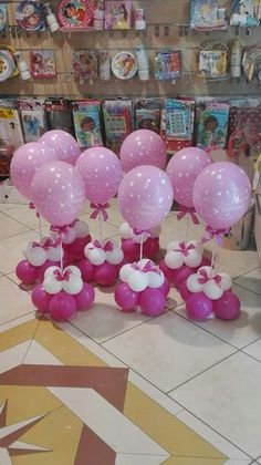 Lovely Ballon Decoration for Birthday Party Ideas - Fldefensivedrivingschool Girl Baby Shower Decorations, Balloon Decorations Party, Balloon Centerpieces, Baby Shower Centerpieces, Birthday Party Decorations, Balloon Flowers, Balloon Bouquet, Unicorn Birthday Parties, Birthday Balloons