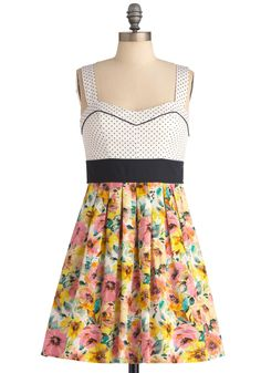 Prints and the Poppies Dress - March 17, 2012
