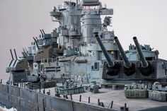 USS Missouri 1/72 Scale Model Diorama